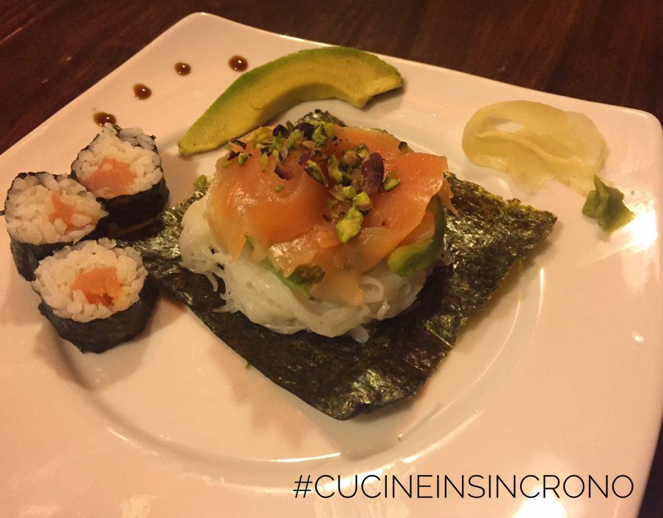 cucineinsincrono giovanna pitotti sushi salmone
